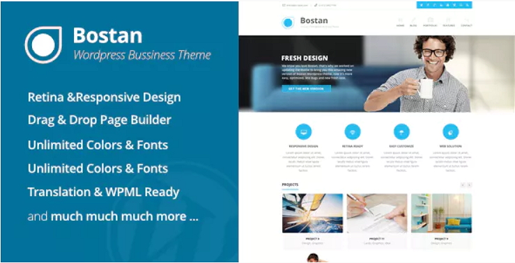 Bostan Business Theme