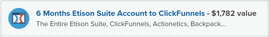 Clickfunnels Special Offer
