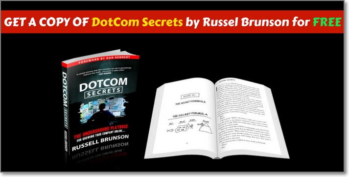 Get DotCom Secrets Book for FREE