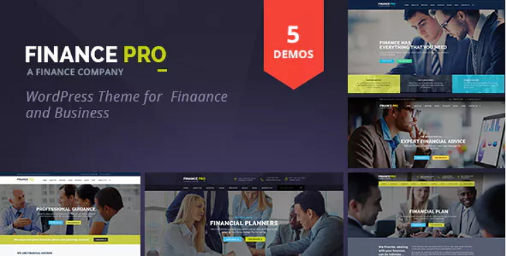 Finance Pro Theme