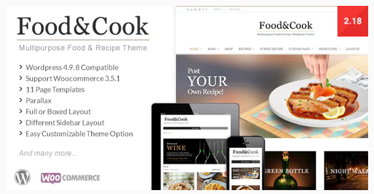 Food and Cook Theme