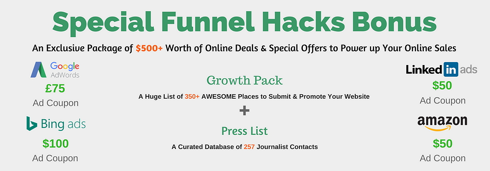 Funnel Hacks Bonus