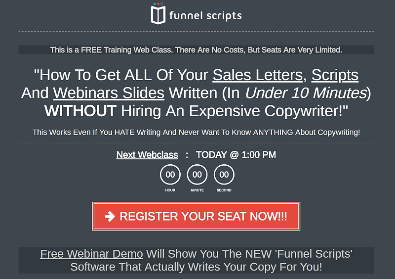 Funnel Scripts FREE Training