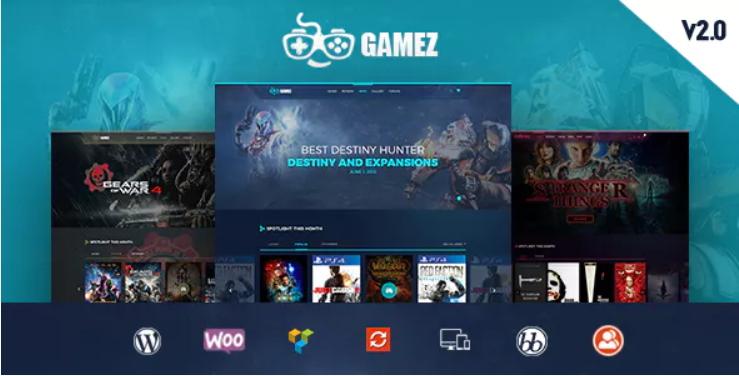 Gamez Theme