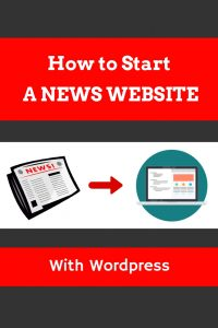 How to start a news website