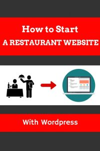 How to start a restaurant website