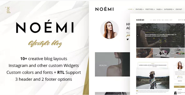 Noemi Theme