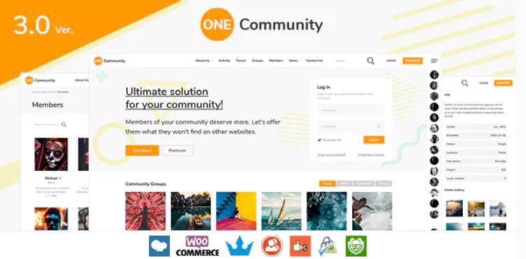 OneCommunity Theme