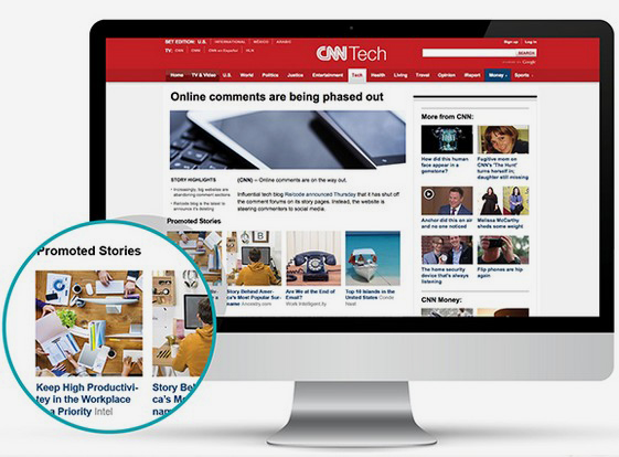 Outbrain CNN example