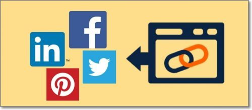 Suggest a Backlink From Your Website in Exchange for a Social Share