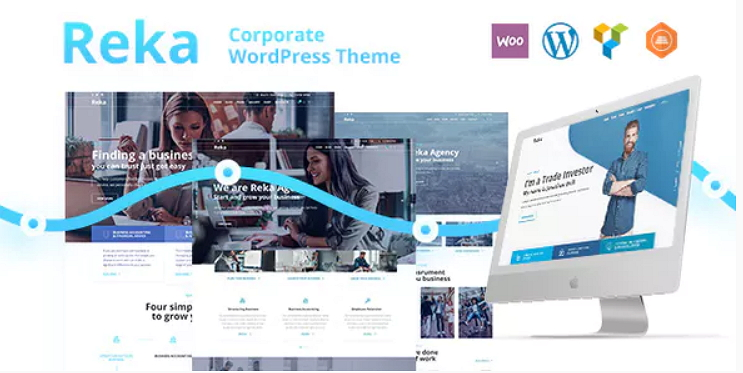 Reka Business Theme