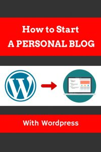 how to start a personal blog