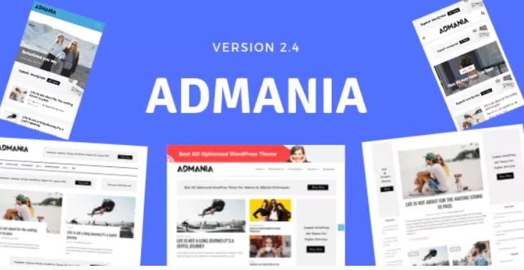 Admania Theme