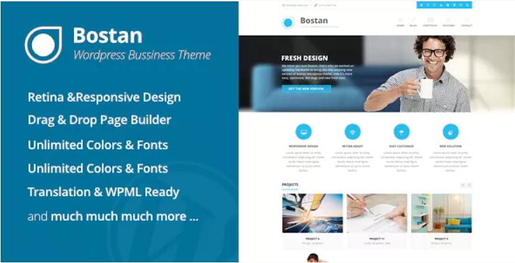 Bostan Business Theme