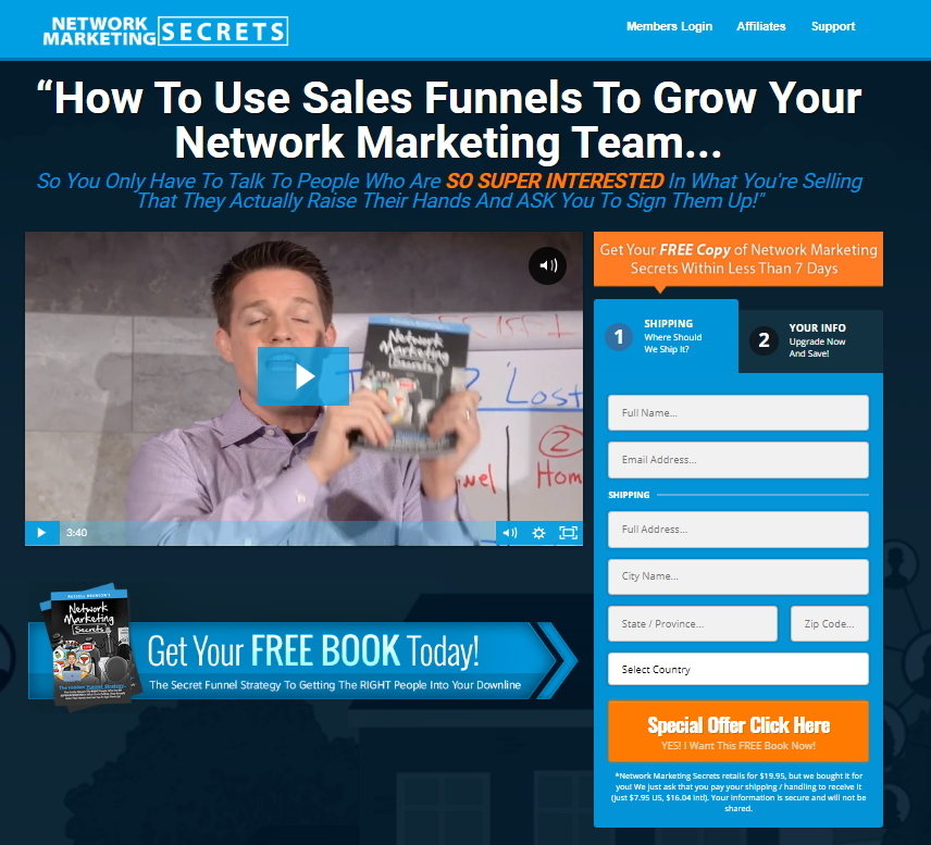 Buy Network Marketing Secrets