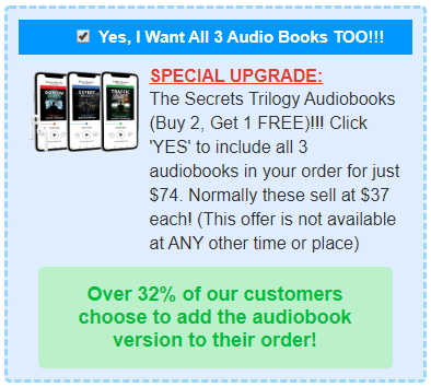 Buy The Secrets Trilogy Audiobooks