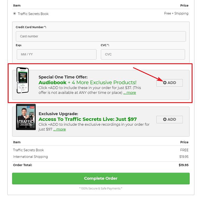 Buy Traffic Secrets Audiobook