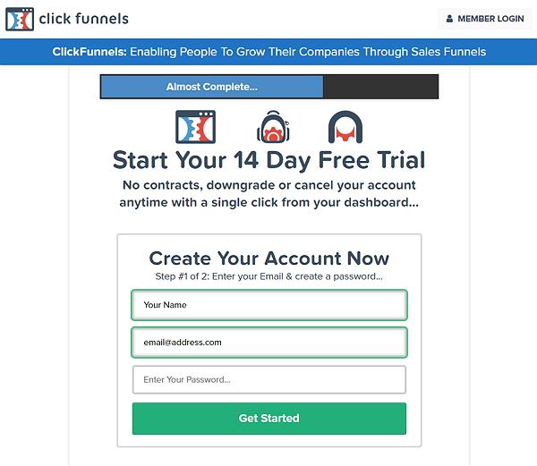 Clickfunnels Signup