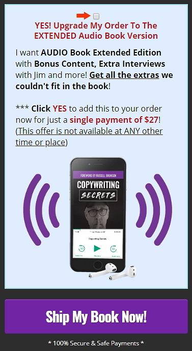 Copywriting Secrets Audiobook