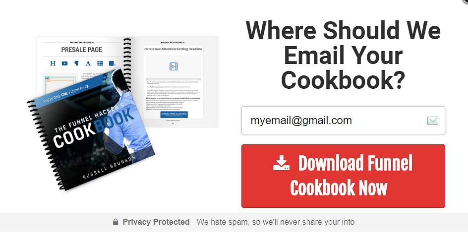 Funnel Hacker CookBook Email
