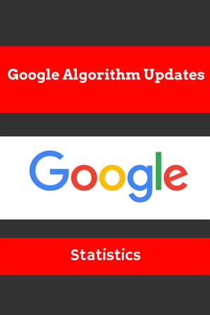 Google Algorithm Updates Statistics