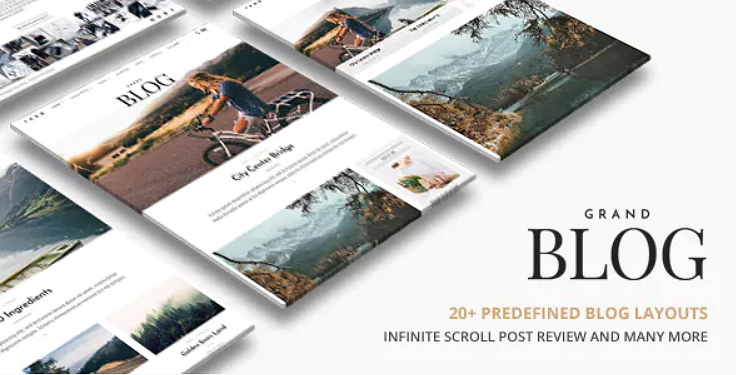 Grand Blog Theme