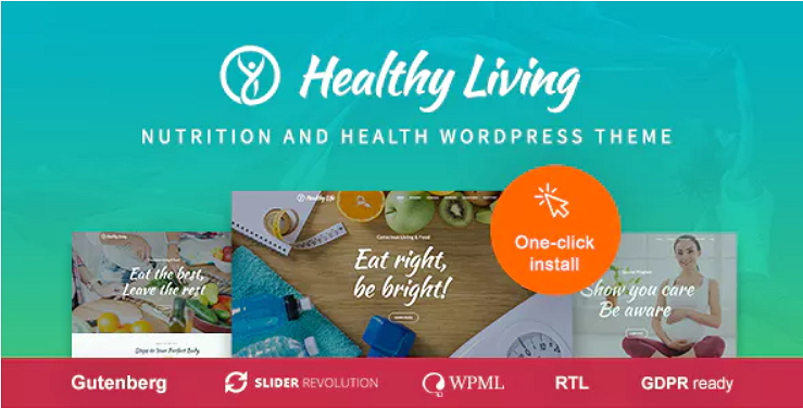 Healthy Living Theme