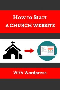 How to start a church website
