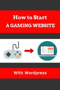 How to start a gaming website