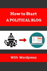 How to start a political blog