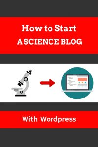 How to start a science blog