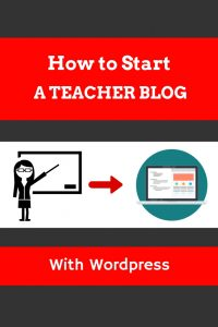 How to start a teacher blog