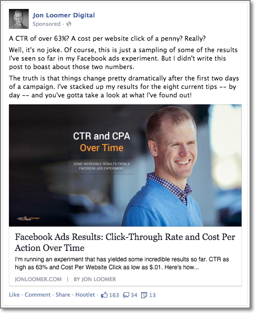 Jon Loomer: The 4-Step Approach to Effective Facebook Ad Targeting
