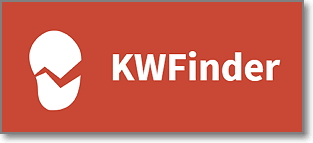 KWFINDER - keyword research tool