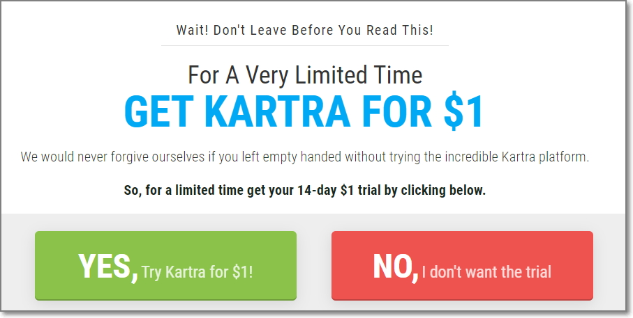 Kartra 14 Day Trial