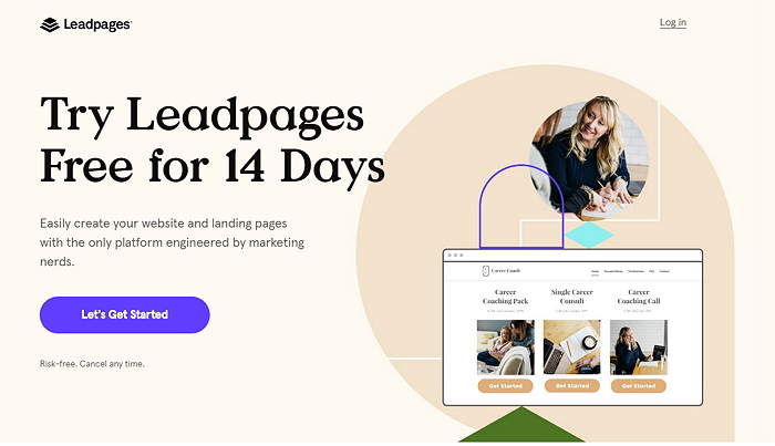 LeadPages 14 Days free trial