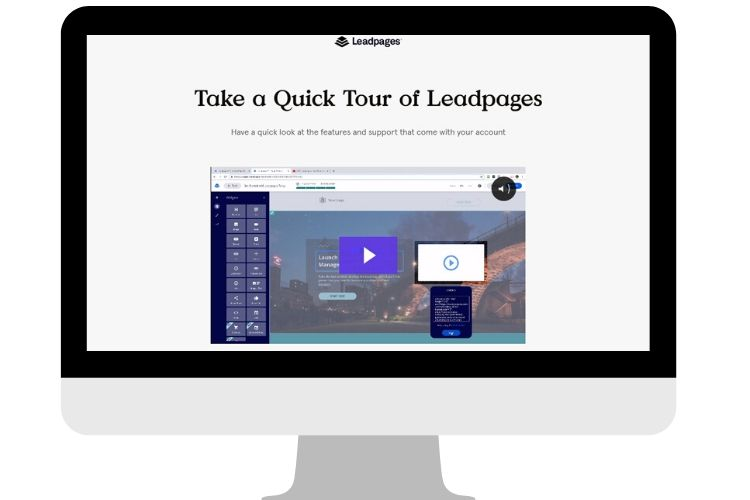 LeadPages Tutorial - how to use leadpages