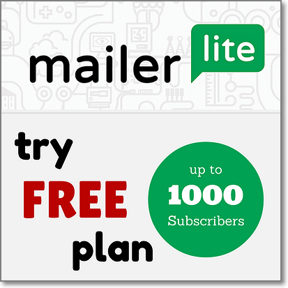 Email Marketing Mailerlite  Store Coupon Code