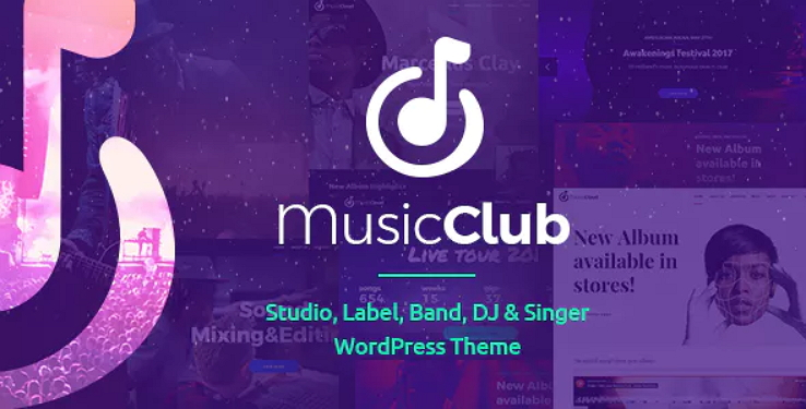Music Club Theme