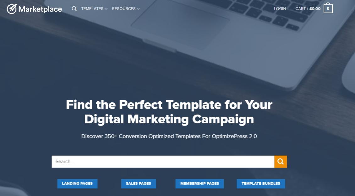 OptimizePress Marketplace