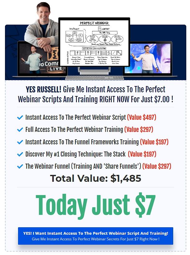 Perfect Webinar Secrets Offer