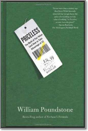 """William Poundstone also analyzed 8 different studies in his book """"Priceles: The Myth of Fair Value (and How to Take Advantage of It)"""" on the use of charm prices ($49, $79, $1.49 and so on)."""