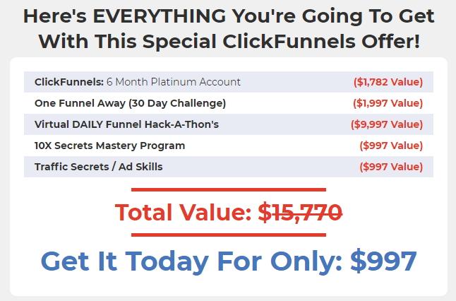Secrets Masterclass  Pricing