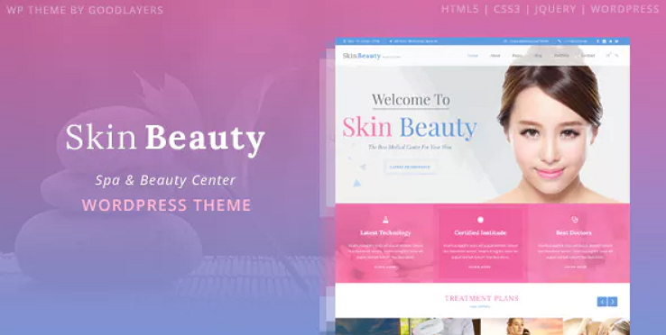 Skin Beauty Theme