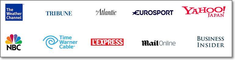 Taboola media outlet partner Sites