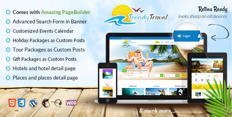 Trendy Travel Theme