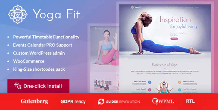 Yoga Fit Theme
