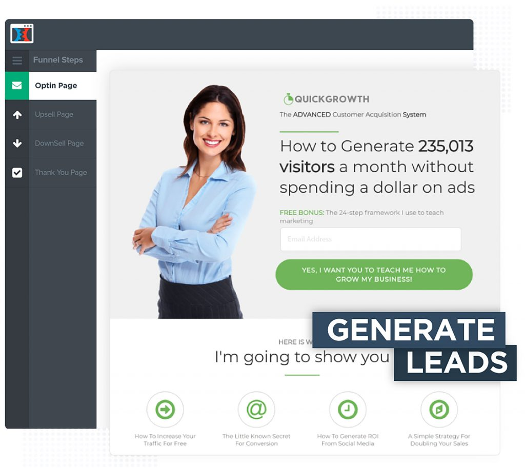 clickfunnels generate leads