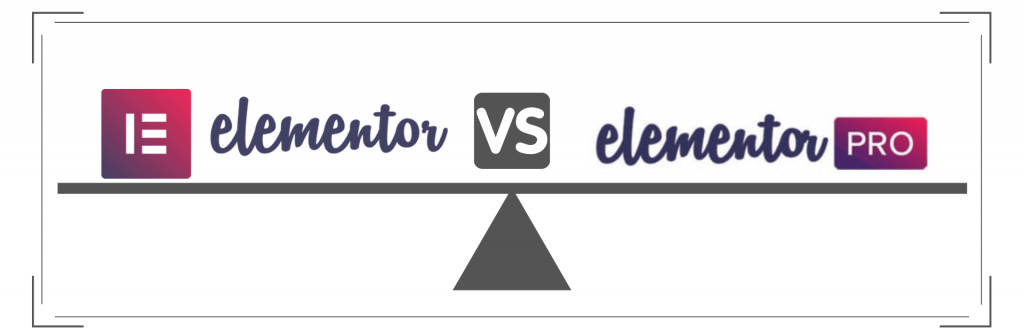 elementor vs elementor pro comparison