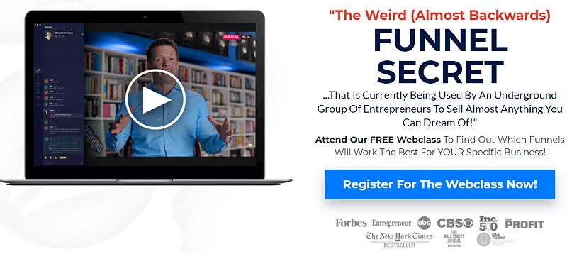 Funnel Hacking Secrets Webinar